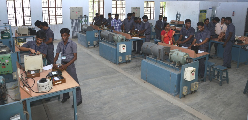 1Electrical Machines lab